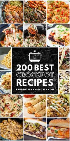 Make weeknight dinners a breeze with these delicious and comforting crockpot recipes. From tender meats to hearty soups, there are plenty of dinner recipes to choose from. Crock Pot Food, Crockpot Dishes, Crock Pot Slow Cooker, Crockpot Meals, Freezer Meals, Best Crockpot Recipes, Slow Cooker Recipes, Cooking Recipes, Slow Cooking