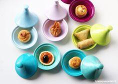 Painted porcelain Mini Tajines Mini Tajines - bemaltes Porzellan DIY deko decoration
