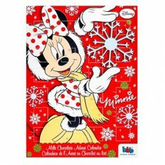 Begin the countdown to Christmas with our amazing value chocolate filled advent calendars! Minnie Mouse, Chocolate Filling, Christmas Countdown, Disney, Snoopy, Advent Calendars, Amazing, Mini Mouse, Disney Art