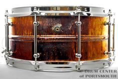 Joyful Noise Anchored Copper Snare Drum 6.5x14 Natural Oil Patina Hear how it sounds! http://youtu.be/2tZzoBnvwrk Available for purchase here! http://www.drumcenternh.com/joyful-noise-anchored-copper-snare-drum-6-5x14-natural-oil-patina.html