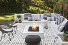 5 Essentials to Bring Your Patio Dreams to Life — Scout & Nimble Design by Jute Home Indoor Outdoor Living, Outdoor Rooms, Outdoor Gardens, Outdoor Decor, Modern Gardens, Outdoor Patios, Backyard Seating, Backyard Patio Designs, Garden Seating