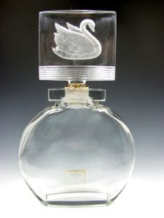 ♔ Bottles & Boxes ♔ perfume, pill, snuff, cigarette cases & decorative containers - swan stopper