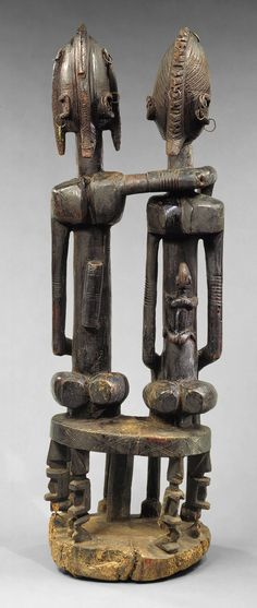 Seated Couple [Mali; Dogon peoples] (1977.394.15) | Heilbrunn Timeline of Art History | The Metropolitan Museum of Art
