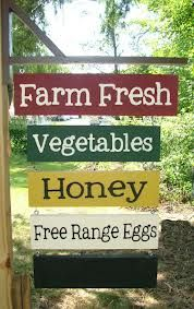 Your Own CUSTOM Farm Stand Sign Farmer's Market by GreenChickens.cute idea for a sign with the name of our little farm.Troll Haven wedding venue and family farm located in Sequim, WA Urban Farm, Farmers Market Signage, Farmers Market Recipes, Permaculture, Deco Cafe, Gallus Gallus Domesticus, Vegetable Stand, Vegetable Shop, Farm Store