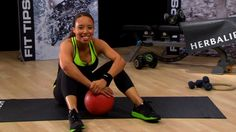 Basketball-Inspired Workout for Sexy Shoulders | Herbalife Fitness Worko...