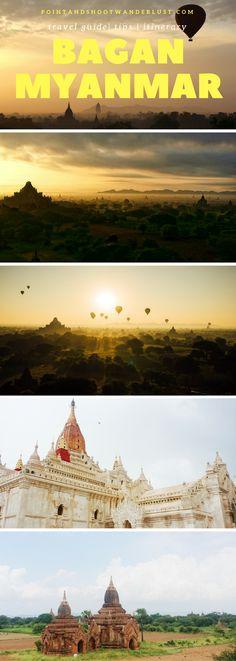 BAGAN, MYANMAR | Burma | Southeast Asia | Bagan travel guide | Bagan travel tips | Bagan itinerary | Temple | Pagoda | Bagan sunrise | Bagan sunset