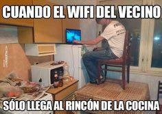 WiFi del vecino... Jajaja