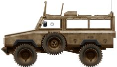 Early mine protected vehicle manufactured in South Africa, declined into many variants, the Mamba APC was also produced under licence as the Nyala South African Air Force, Armored Vehicles, Armored Car, Military History, Military Vehicles, Monster Trucks, Guns, Army, Helicopters