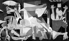 "Pablo Picasso, ""Guernica,"" 1937 ""Did you do that?"" a Nazi officer asked Picasso in front of Guernica. ""No,"" Picasso is said to have replied, ""you did. Picasso Guernica, Picasso Paintings, Picasso Art, Oil Paintings, Painting Art, Picasso Images, Picasso Style, Art History, Frames"