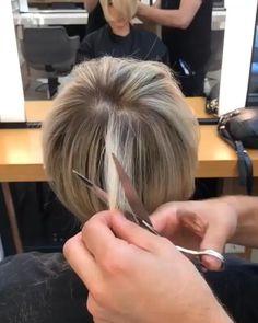 Edgy Short Hair, Short Hair Trends, Short Hair With Layers, Short Hair Cuts For Women, Short Fine Hair, Pixie Cut With Long Bangs, Short Bob With Undercut, Short Wedge Haircut, Short Silver Hair