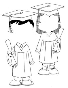 Free printable coloring pages for print and color, Coloring Page to Print , Free Printable Coloring Book Pages for Kid, Printable Coloring worksheet Coloring Pages To Print, Free Printable Coloring Pages, Coloring Book Pages, Coloring Pages For Kids, Coloring Sheets, Graduation Crafts, Kindergarten Graduation, In Kindergarten, Graduation Drawing
