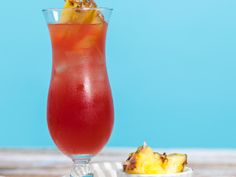 Fruit juices and vodka are all youll need for this beachy cocktail. Now all you need is a tropical island! Cocktails Made With Vodka, Vodka Cocktails, Summer Cocktails, Cocktail Drinks, Cocktail Recipes, Alcoholic Drinks, Festive Cocktails, Party Drinks, All You Need Is