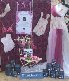 breast cancer window display