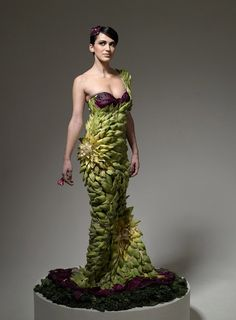 Clothes Made out of Food by Ted Sabarese