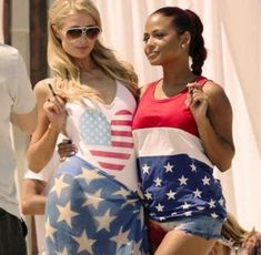 Not really a fan of these ladies but this pic is awesome. -Paris Hilton and Christina Milian enjoy a vape together.