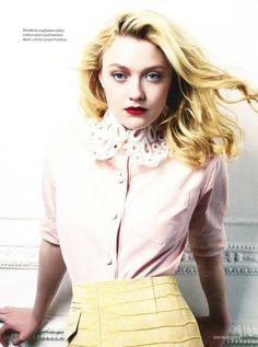 Dakota Fanning for British Vogue. this makes me feel old?