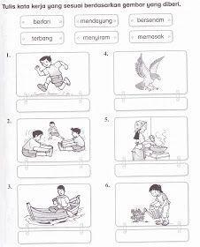 KSSR Bahasa Malaysia Tahun 1: November 2011 Preschool Projects, Preschool Learning Activities, Preschool Printables, Preschool Worksheets, Writing Activities, Classroom Activities, Teaching Kids, Dinosaur Projects, Kindergarten Test