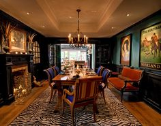 Dining Room by Viscusi Elson Interior Design - Gina Viscusi Elson