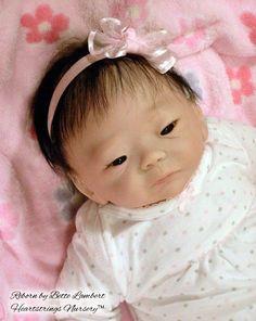 KAMEKO  Delicate 19' Asian Reborn Baby par HeartstringsNursery, $390.00