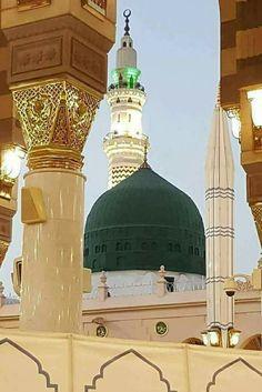 Love my prophet Masjid Haram, Al Masjid An Nabawi, Mecca Masjid, Mecca Islam, Islamic Images, Islamic Pictures, Islamic Art, Beautiful Mosques, Beautiful Places