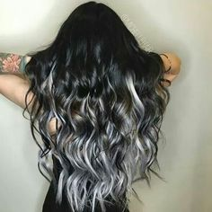 Love this smokey colored hair!