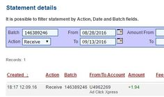 Here is my Withdrawal Proof from AdClickXpress. I get paid daily and I can withdraw daily. Online income is possible with ACX, who is definitely paying - no scam here.I WORK FROM HOME less than 10 minutes and I manage to cover my LOW SALARY INCOME. If you are a PASSIVE INCOME SEEKER, then AdClickXpress (Ad Click Xpress) is the best ONLINE OPPORTUNITY for you!!