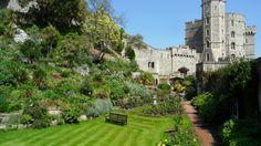 The Queen's Garden, Windsor Castle, UK, May 2014