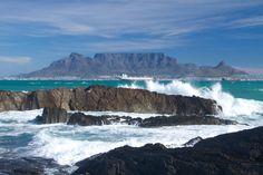 Table mountain - Table mountain, Cape Town Mountain Images, Table Mountain, Cape Town, Ocean, Awesome, Water, Outdoor, Photos, Gripe Water
