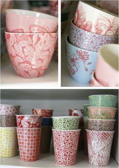 Beautiful porcelain creations by Samantha Robinson