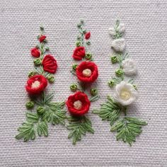 Wonderful Ribbon Embroidery Flowers by Hand Ideas. Enchanting Ribbon Embroidery Flowers by Hand Ideas. Brazilian Embroidery Stitches, Crewel Embroidery Kits, Embroidery Needles, Learn Embroidery, Silk Ribbon Embroidery, Hand Embroidery Patterns, Cross Stitch Embroidery, Flower Embroidery, Embroidery Supplies