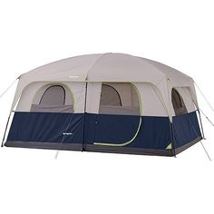 Ozark Trail 10 Person 2 Room Straight Wall Family Cabin Tent >>> You can get additional details at the image link.