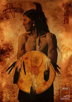 Native_American_Indian_by_dienstmannoliver.jpg (300×424)