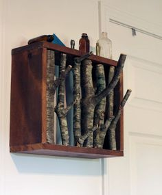 A Simple DIY Branch Coat Rack Instructables   Apartment Therapy