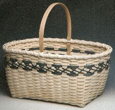 *Cross Stitch Market Basket - Diane Stanton - BasketWeavingSupplies.com - Product Catalog