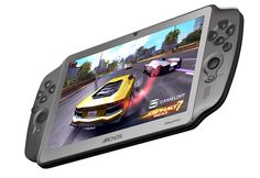 Archos latest venture in the Android market is a gaming tablet. But it's not just any other portable tablet because the Archos GamePad actually comes with Tablet Android, Android Apps, Mobile Technology, Technology Gadgets, Latest Technology, New Gadgets, Cool Gadgets, Las Vegas, Consoles
