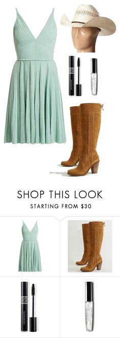 """""""west cowboy"""" by ximenavbieber3 on Polyvore featuring Elie Saab, Jessica Simpson, Christian Dior, M&F Western and casual"""