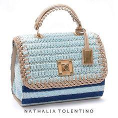 Cores leves, que nos deixaram suspirando... #inlove #bags #natháliatolentino #handmade #euquero