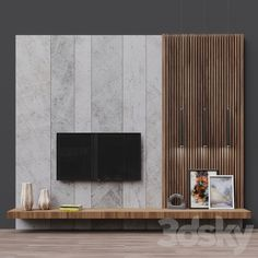 3d models: TV Wall - TV Zona 7 Luxury Bedroom Design, Home Room Design, Home Interior Design, Tv Unit Decor, Tv Wall Decor, Wall Tv, Modern Tv Unit Designs, Living Room Tv Unit Designs, Feature Wall Design