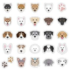 Draw Dogs Illustration of Illustrations of dog face vector art, clipart and stock vectors. Image - - Millions of Creative Stock Photos, Vectors, Videos and Music Files For Your Inspiration and Projects. Dog Line Drawing, Dog Cookies, Dog Illustration, Banner Printing, Free Vector Art, Dog Vector, Dog Photos, Dog Art, Cute Dogs