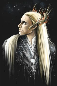 Thranduil by AndreevaPolina on DeviantArt Tolkien Hobbit, Hobbit Art, Lotr, The Hobbit, Mirkwood Elves, Legolas And Thranduil, Into The West, Fanart, King Of My Heart