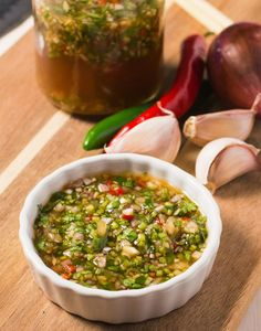 Hot, sweet, salty and sour. This Thai dipping sauce has all the classic flavours of Southeast Asian cooking. Use it with any grilled meat or poultry.