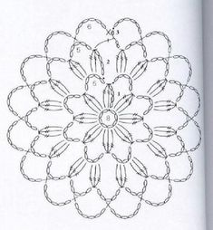 Transcendent Crochet a Solid Granny Square Ideas. Inconceivable Crochet a Solid Granny Square Ideas. Crochet Doily Diagram, Crochet Snowflake Pattern, Crochet Mandala Pattern, Crochet Doily Patterns, Crochet Snowflakes, Freeform Crochet, Crochet Squares, Thread Crochet, Crochet Doilies