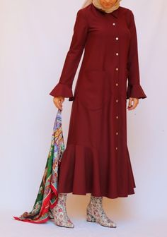 Bordo Elbise