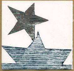 Atelier Marik: Calendrier de l'Avent en gravure, l'Arche étoilée....