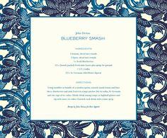 Recipe: John Derian's Blueberry Smash | The Tory Blog