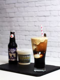 Ice Cream Cocktail: White Russian Cinnamon Coffee
