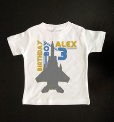 3a1820a9975a Birthday party - Planes, trains, and automobiles - - Etsy shirt to wear-  Retro Airplane Birthday Boy Custom Kids Birthday by PartyWithMe