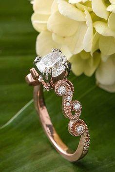 Utterly Gorgeous Engagement Ring Ideas ❤ See more: http://www.weddingforward.com/engagement-ring-inspiration/ #weddings