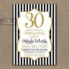 Navy blue silver birthday invitations printable any age 21st 30th birthday invitations black gold glitter 20th 30th birthday invitation 40th 50th 60th 7 filmwisefo