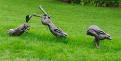 Hare sculpture wisley